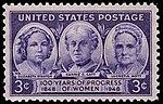 Progress of Women 3c 1948 issue U.S. stamp.jpg