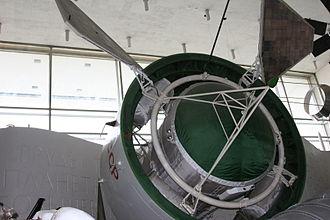 Proton satellite - Image: Proton satellite model closeup