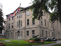Photo of Province House, where Nova Scotia's legislature meets and a Provincially Registered Property