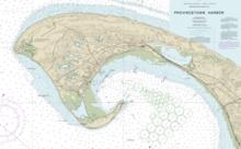 Provincetown Harbor NOAA Chart.png