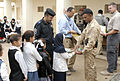 Provincial Reconstruction Team, Iraqi Security Forces spread smiles to Iraqi children DVIDS131782.jpg