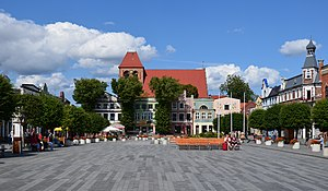 Puck, Poland - Market Square