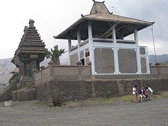 Mount Bromo - Pura Luhur Poten.