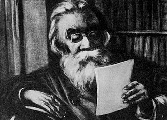 Pyotr Lavrov - A drawing of Lavrov.