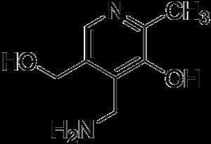 Pyridoxamine - Image: Pyridoxamine