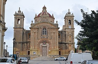 Parish Church of the Assumption, Qrendi Church in Qrendi, Malta