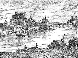 Château de la Tournelle - Image: Quai saint bernard