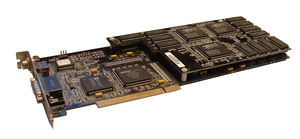 Scan-Line Interleave - A single PCI video card that combines two Voodoo 2 boards in SLI configuration.