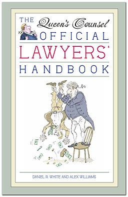 Queen's Counsel Official Lawyers Handbook Book Jacket Front Cover