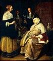 Quiringh van Brekelenkam - Kraambezoek in een interieur - Gal.-Nr. 1731 - Staatliche Kunstsammlungen Dresden.jpg