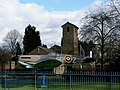 RAF church and mock-up fighter plane at Biggin Hill - geograph.org.uk - 1592245.jpg