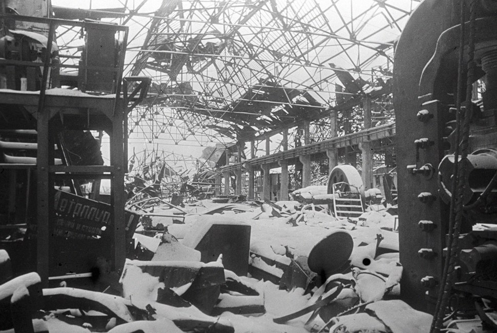 RIAN archive 2383 The ruins of Stalingrad