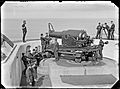 RML 9 inch gun and crew at Fort Scratchley-2 Flickr 4811498804.jpg