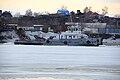 RT-456 breaking ice on Biya river.jpg