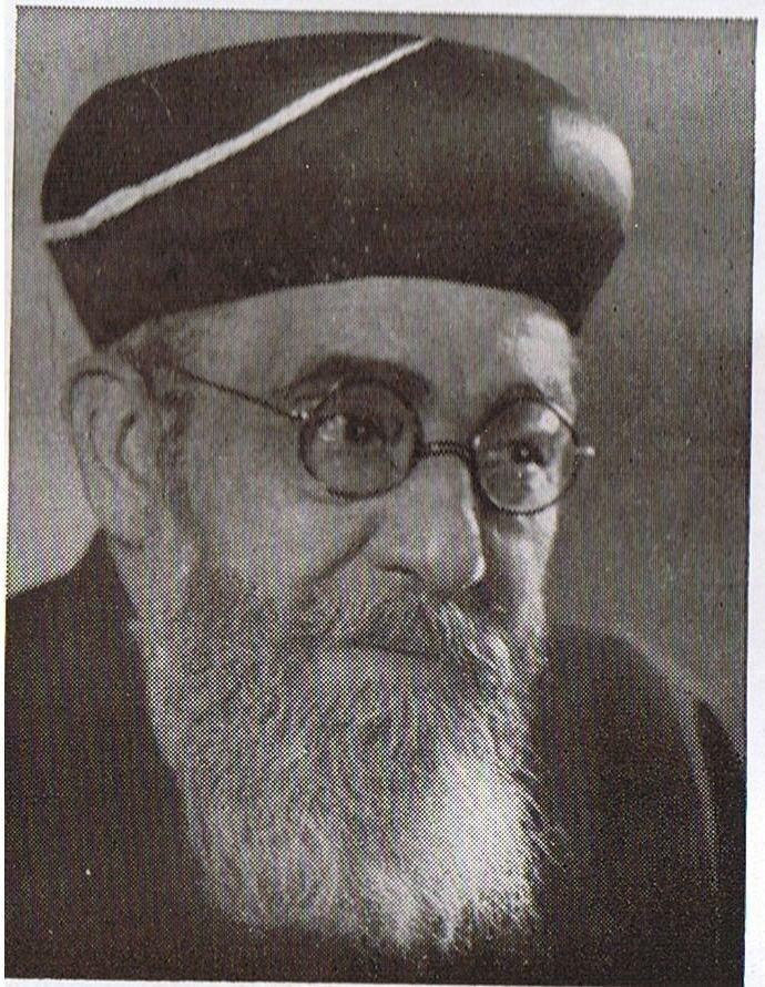 Rabbi Ben-Zion Meir Hai Uziel