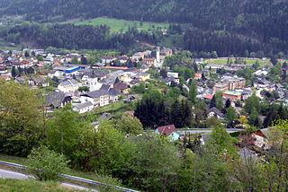 Radenthein Place in Carinthia, Austria