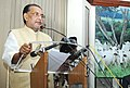 """Radha Mohan Singh addressing at the """"National Workshop on Management of Animals in Emergencies"""", organised by the National Institute of Disaster Management, in New Delhi.jpg"""