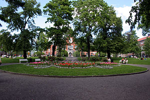 Umeå Town Hall - Rådhusparken.