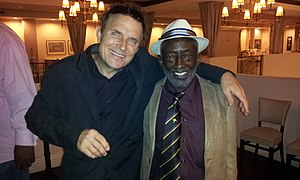 Randy and Garrett Morris in Los Angeles 2013.jpg