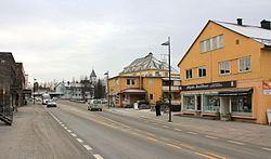 Raufoss sentrum en novemberdag 2013.jpg