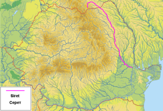Siret (river) - Image: Raul Siret