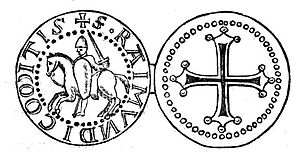 Raymond IV, Count of Toulouse - Sketch of Raymond's seal
