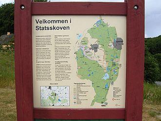Rebild National Park - Rebild National Park map