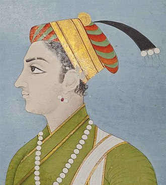 Sulaiman Shikoh - Recently identified portrait of Sulaiman Shikoh