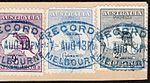 Records Melbourne cancel on stamps of Australia 1913..jpg
