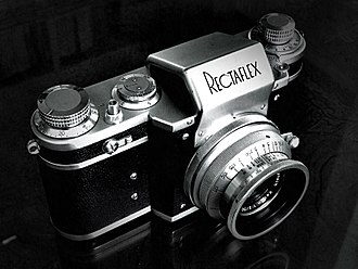 History of the single-lens reflex camera - Rectaflex, the first pentaprism SLR for eye-level viewing