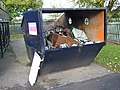 Recycling Skip at the Gravel Pit Lane Facility - geograph.org.uk - 1023861.jpg