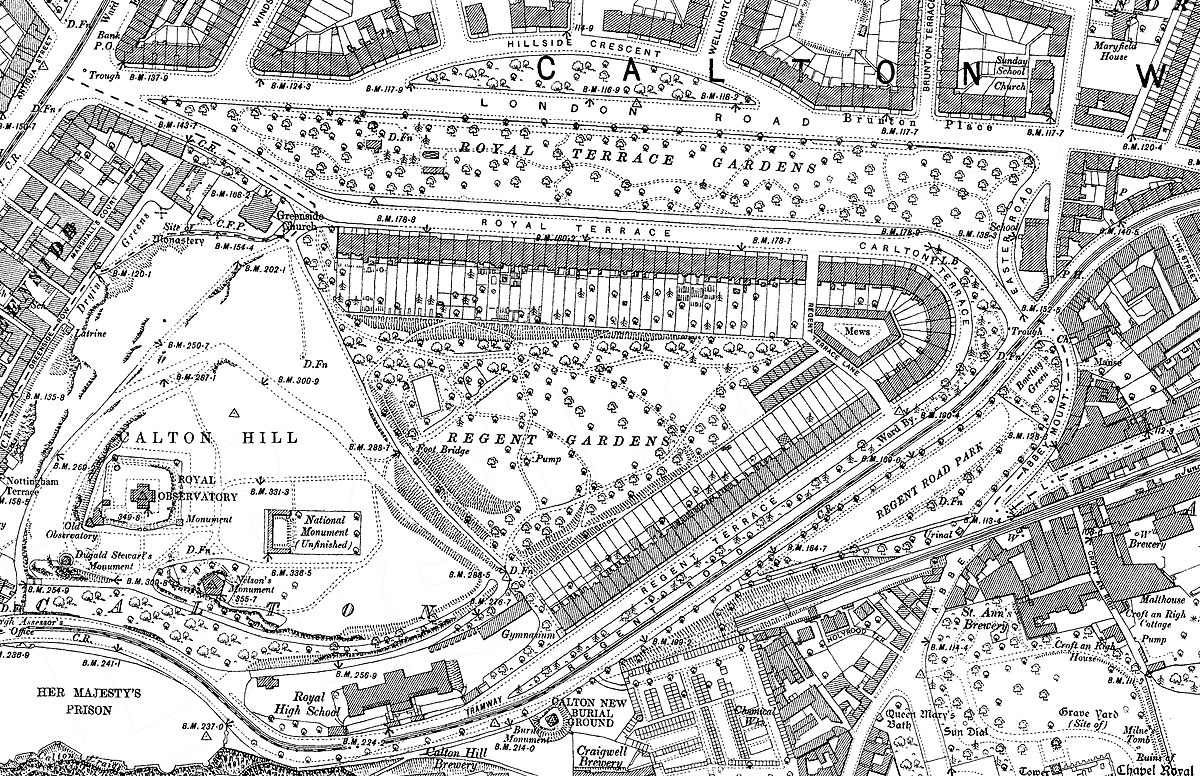 Regent royal and carlton terrace garden wikipedia for 12 regent terrace edinburgh