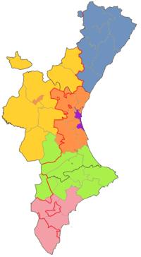 Mapa De Valencia España Comunidad Valenciana.Idioma Valenciano Wikipedia La Enciclopedia Libre