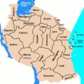 Regionoj de Tanzanio.png