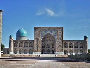 Samarkanda: Registan Tillya-Kari madrasah2014