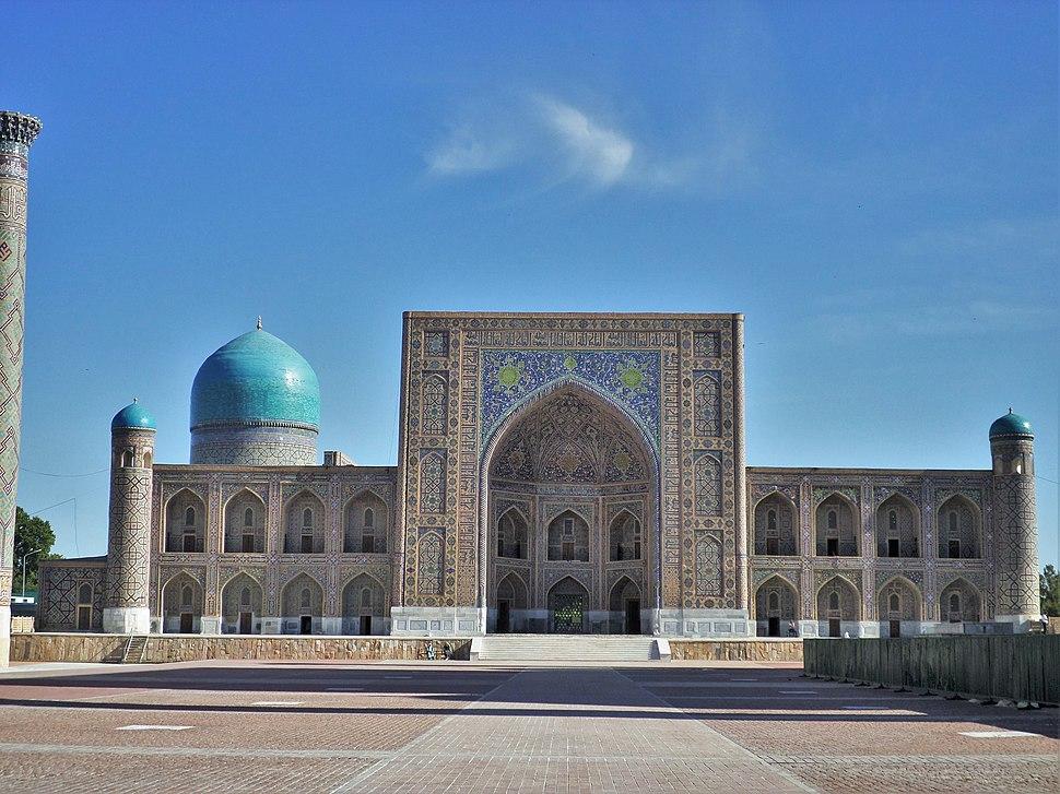 Registan Tillya-Kari madrasah2014