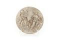 Relief av silver föreställande mans och kvinnofigur (Josef och Potifars hustru) - Skoklosters slott - 92207.tif