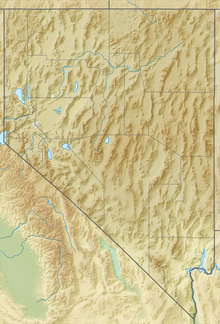 Cherry Creek Range is located in Nevada