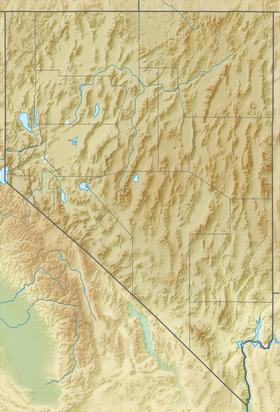 (Voir situation sur carte: Nevada)