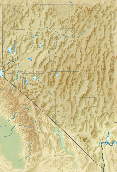 File:Relief map of U.S., Nevada.png