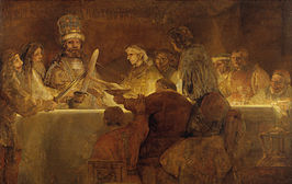 Rembrandt Harmensz. van Rijn - The Conspiracy of the Batavians under Claudius Civilis - Google Art Project.jpg