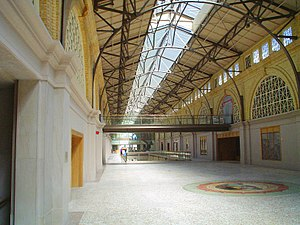 """San Francisco Ferry Building - """"Great Nave"""" of the Ferry Building after its renovations"""