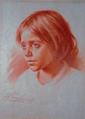 Retrato de Menina (Cabeça de Criança) (1919) - José de Almeida e Silva.png
