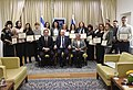 Reuven Rivlin and his wife honored special education teachers, who were outstanding members of the «Athena Foundation», November 2017 (2514).jpg
