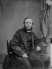 Revd David Saunders (1831-92) in 1865