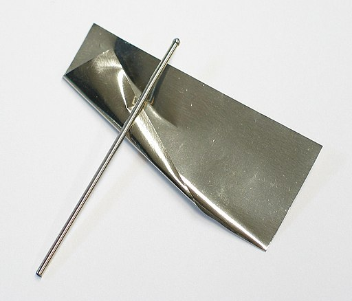 Rhodium foil and wire