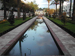 Tétouan - Riad Al Ochak (literally The Lovers' Garden) - a replica of the gardens of Granada, Spain