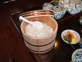 Rice in the wooden tub.jpg