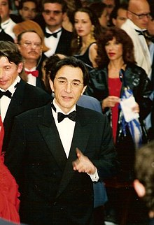Richard Berry à Cannes en 1996