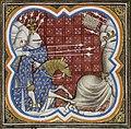 Richard Coeur de Lion roi d'Angleterre s'enfuit devant l'armée de Philippe Auguste.jpg